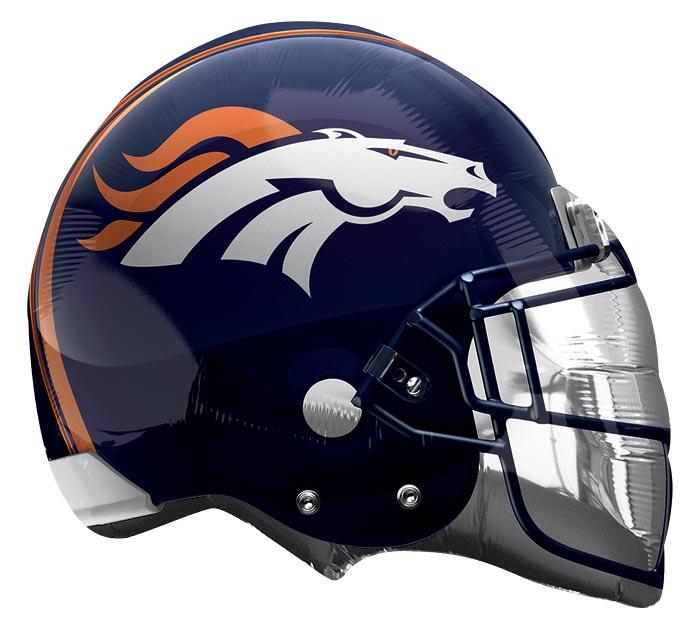 "21"" NFL DENVER BRONCOS HELMET SHAPE"