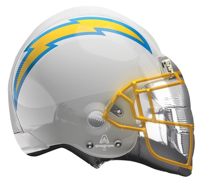 """21""""NFL LOS ANGELES CHARGERS HELMET"""