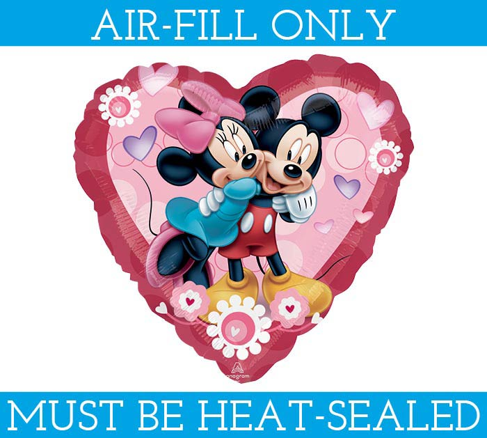 "9""FLAT MICKEY/MINNIE MUST AIR FILL ONLY"