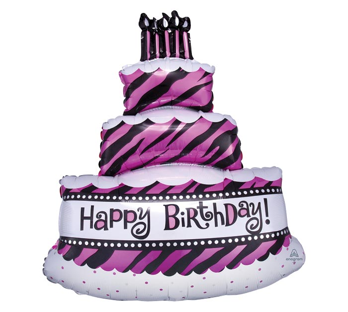 "32""PKG HBD FAB CAKE"