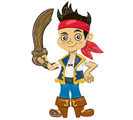 JAKE AND THE NEVERLAND PIRATES AIRWALKER