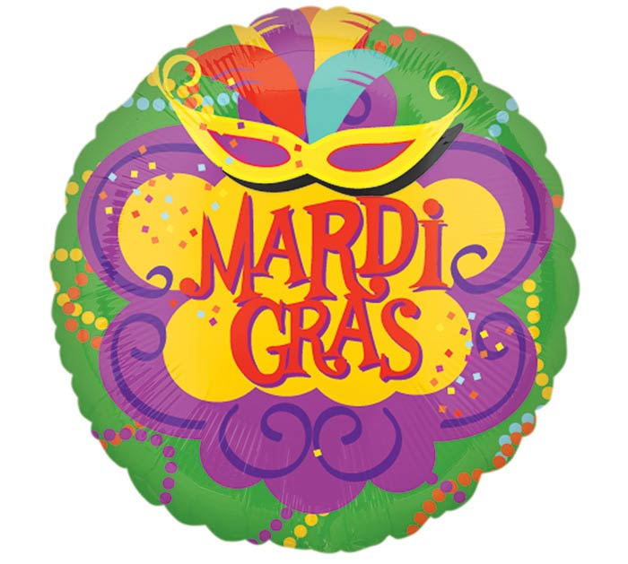 "17""MAR VIBRANT MARDI GRAS"