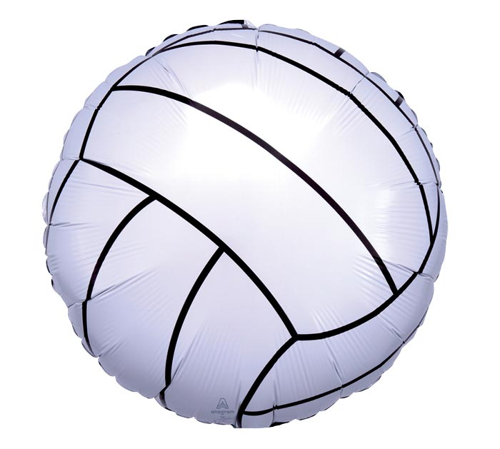 """17"""" PACKAGED VOLLEYBALL BALLOON"""