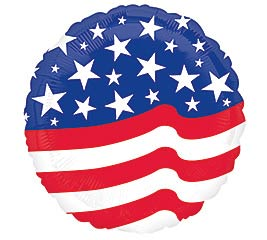 "17"" AMERICAN FLAG"