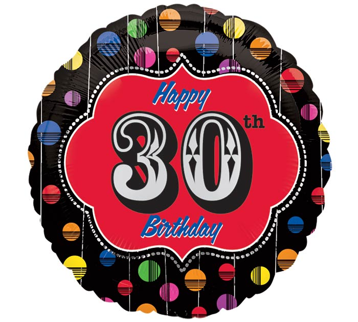 "17"" 30TH BIRTHDAY"