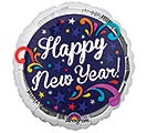 "9""INFLATED HNY SWIRL"