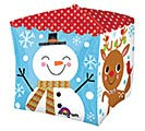 "15"" PKG CHRISTMAS SANTA CUBEZ 1st Alternate Image"