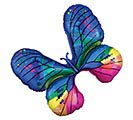 "31""PKG FANCY BUTTERFLY"