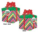 "21"" PKG MERRY CHRISTMAS GIFT MULTI-PANEL"