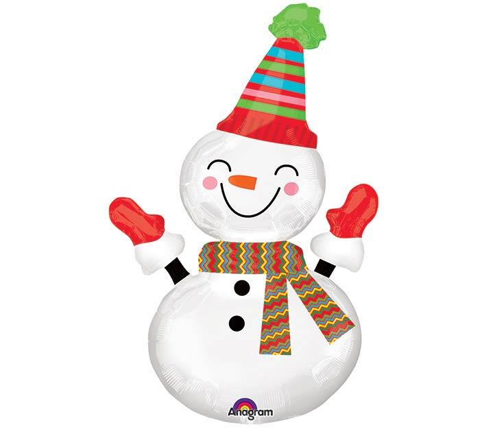 "36"" PKG CHRISTMAS SNOWMAN"