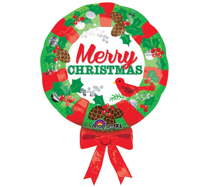 "28"" PKG CHRISTMAS WREATH"
