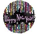 "17"" HAPPY NEW YEAR PIZZAZZ"