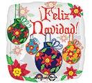 """17"""" SPANISH FELIZ NAVIDAD"""