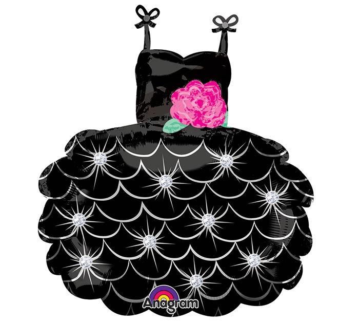 "28""PKG BLACK DRESS"
