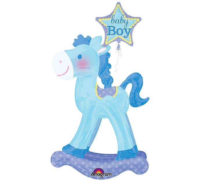 BLUE ROCKING HORSE AIRWALKER