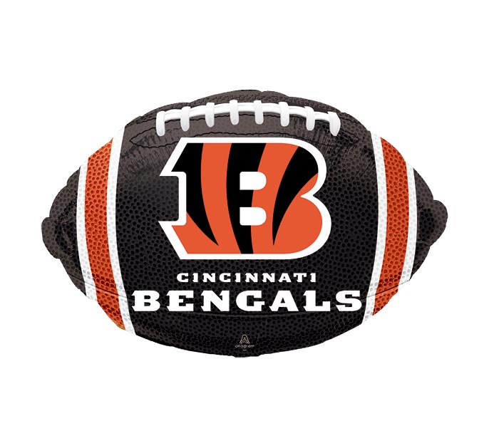 "17"" NFL CINCINNATI BENGALS FOOTBALL"
