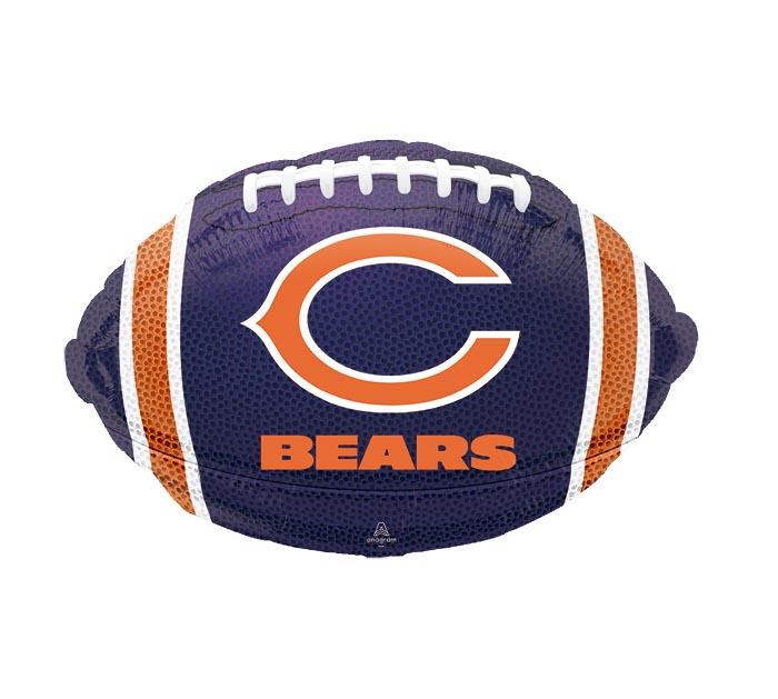 "17"" NFL CHICAGO BEARS FOOTBALL"