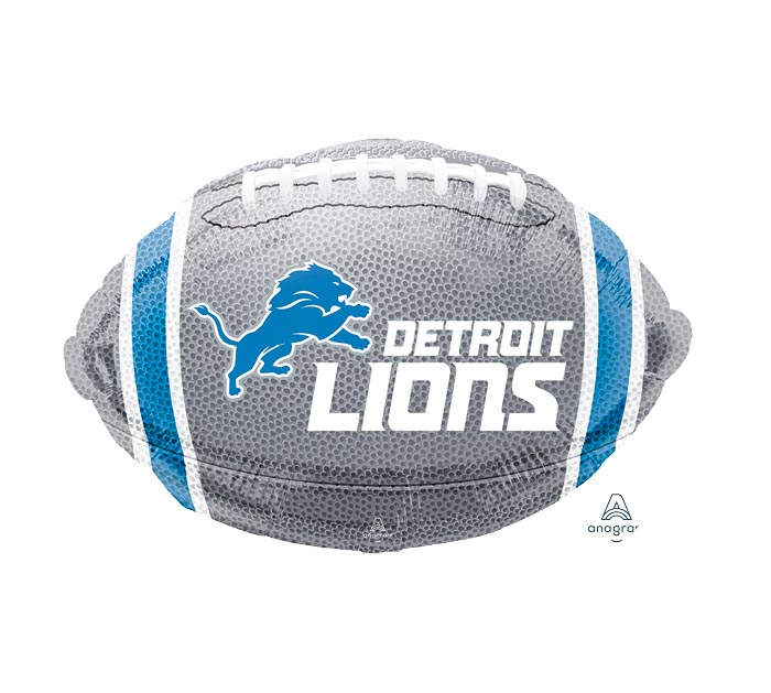 "17"" NFL DETROIT LIONS FOOTBALL"