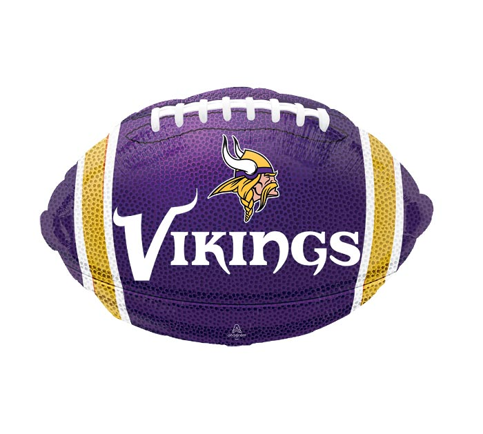 """17"""" NFL MINNESOTA VIKINGS FOOTBALL"""
