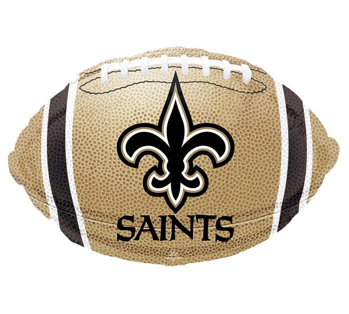 "17"" NFL NEW ORLEANS SAINTS FOOTBALL"