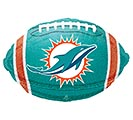 "17"" NFL MIAMI DOLPHINS FOOTBALL"