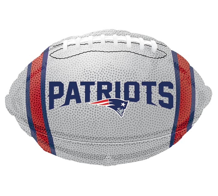 "17"" NFL NEW ENGLAND PATRIOTS FOOTBALL"