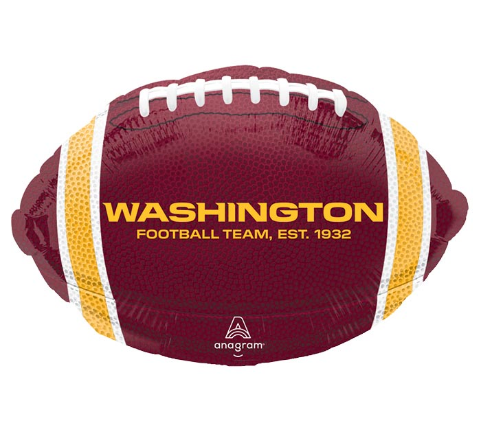 "17"" NFL WASHINGTON REDSKINS FOOTBALL"