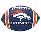 "17"" NFL DENVER BRONCOS FOOTBALL"
