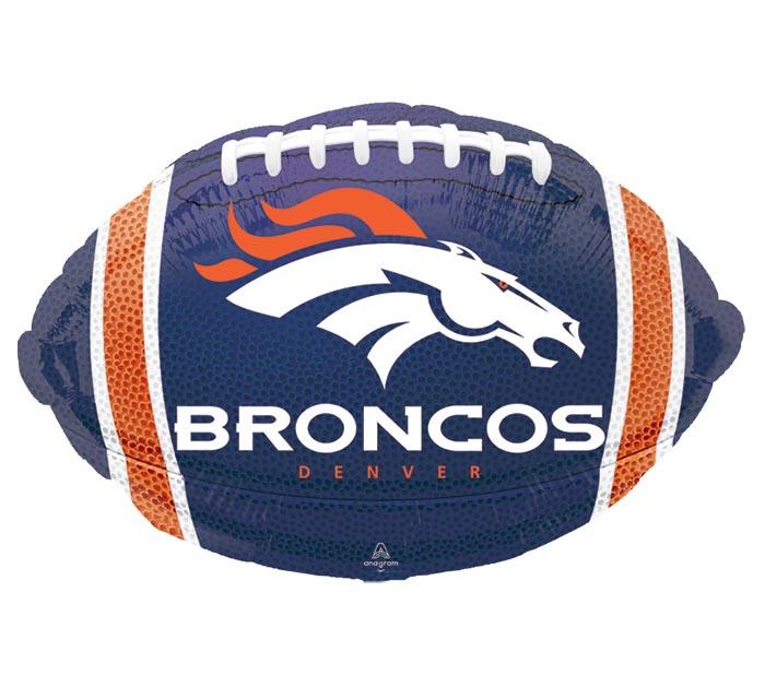 """17"""" NFL DENVER BRONCOS FOOTBALL"""