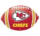 "17"" NFL KANSAS CITY CHIEFS FOOTBALL"