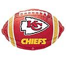 "17"" NFL KANSAS CITY CHIEFS FOOTBALL"