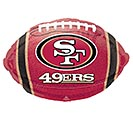 "17""NFL SAN FRANCISCO 49ERS FOOTBALL"