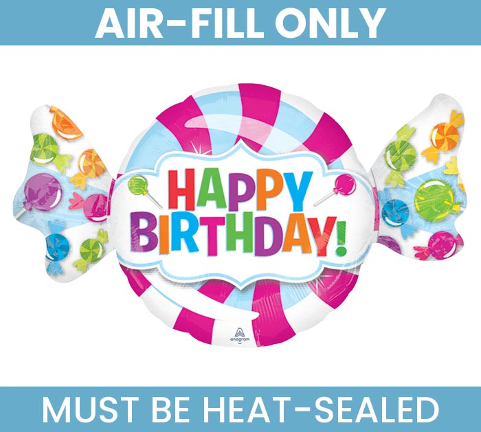 "14""FLAT BIRTHDAY MUST FILL WITH AIR ONLY"