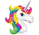 "14""INFLATED UNICORN MINI SHAPE"
