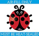 "10""LADYBUG MINI SHAPE FILL WITH AIR"