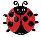 "19"" LADY BUG SHAPE"