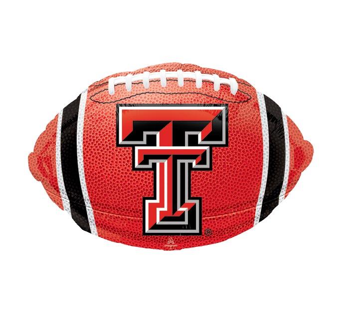 """17"""" NCAA TEXAS TECH FOOTBALL"""