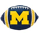 "17"" UNIVERSITY OF MICHIGAN FOOTBALL"