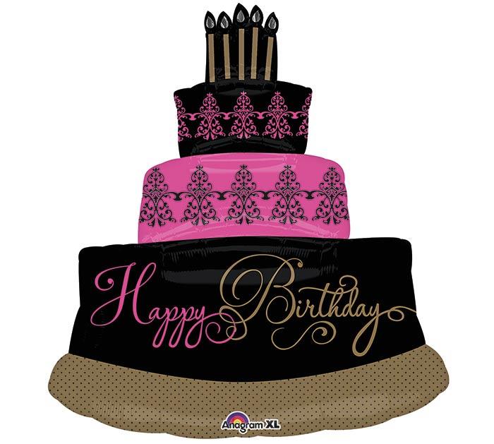"32""PKG HBD CAKE"