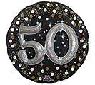 "32""PKG 50 MULTI BALLOON SPARKLING BDAY"