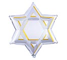 "21""PKG STAR OF DAVID"