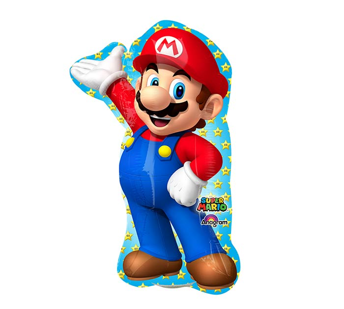 "14""INFLATED MARIO BR"