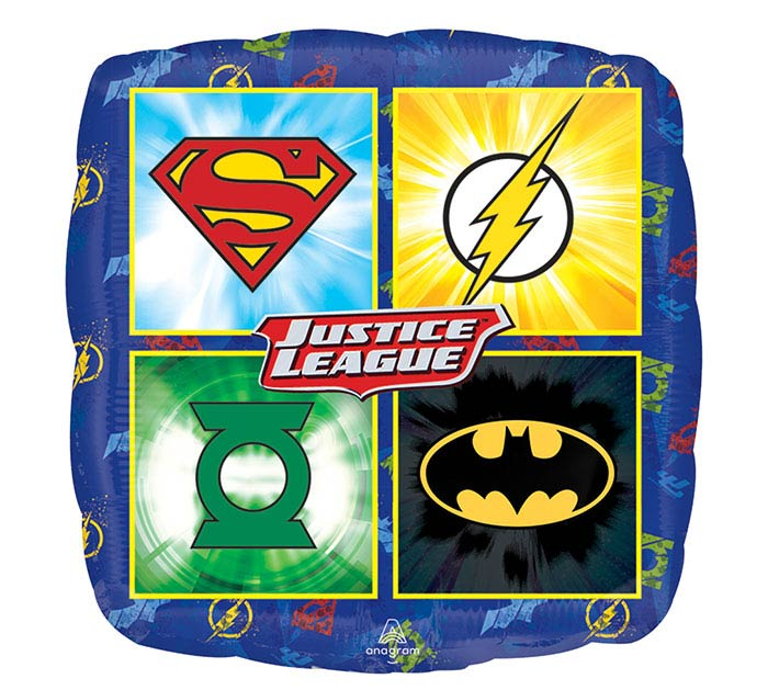 "9""INFLATED CHA JUSTICE LEAGUE"