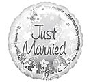 "17""WED JUST MARRIED"