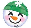 "17"" SNOWMAN EMOTICONS"