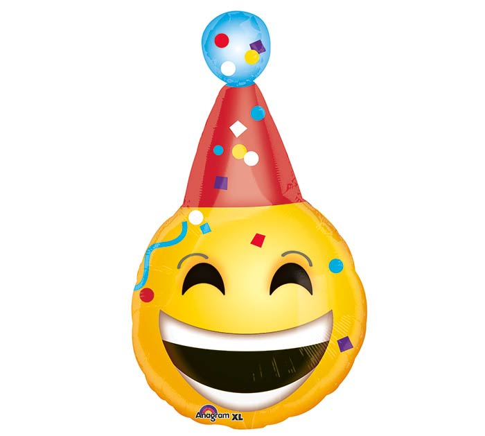 "25""PKG BDAY EMOTICONS"