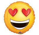 """9""""INFLATED LOVE EMOTICON"""