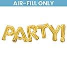 """33""""PKG PARTY GOLD"""