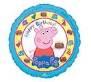 "17""PKG HBD PEPPA PIG"