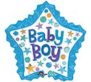 "34""PKG BABY BOY STAR WITH RUFFLE"